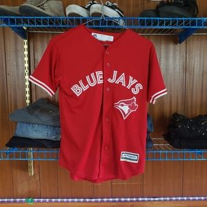 Youth Blue Jays Jersey Red
